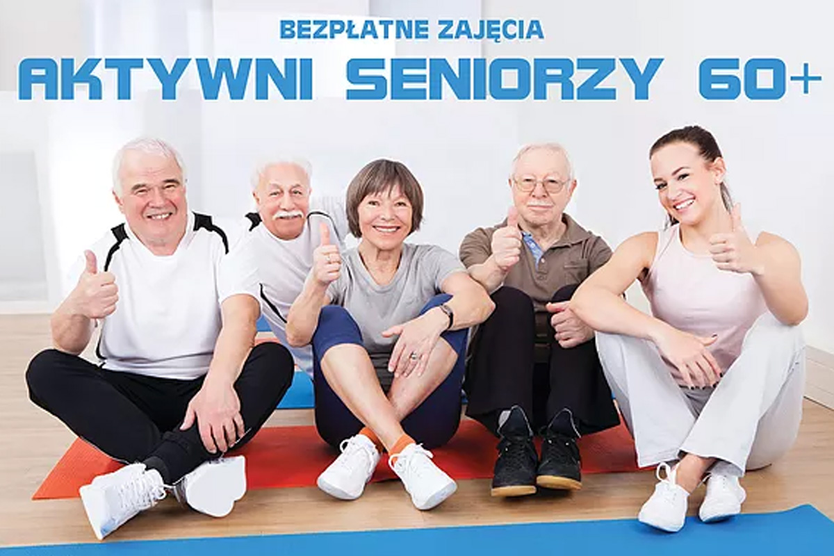 Joga - Ruch - Oddech - Aktywni Seniorzy 60+